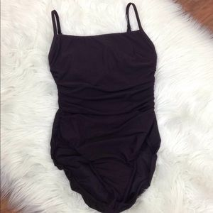 Miraclesuit  10 Brown One Piece